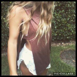 Tribe Kelley Tops - ✌🏼 Tribe Kelley Mustang Dusk Tank ✌🏼